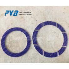 Arandela de empuje multicapa, arandela revestida púrpura POM, PCMW .. M estándar wahser ubicuador