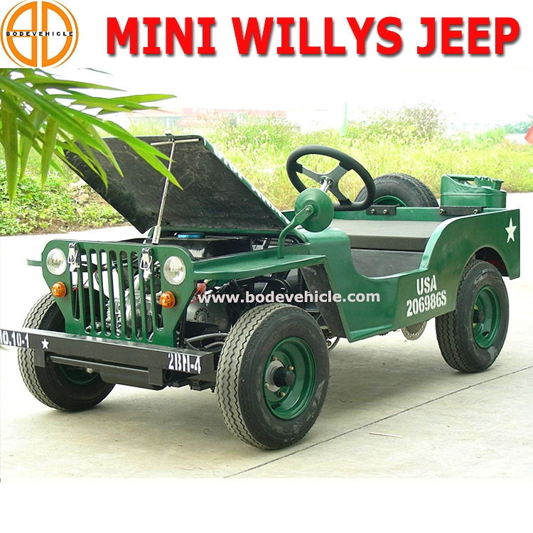 Bode Quality Assured 1500w Willys Jeep for Sale Bc