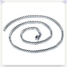 Moda colar de aço inoxidável jóias cadeia de moda (sh029)
