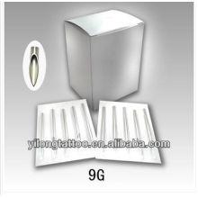 Agulha de perfuração G9 316L inox