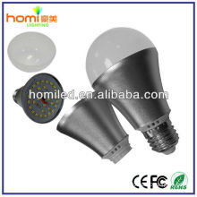 high power CE /Rohs approved 5w/7w/9w aluminum LED Bulb