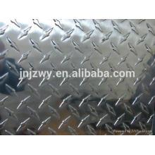 1060 1070 1050 1200 Plaque à carreaux en aluminium utilisée dans les ustensiles de cuisine