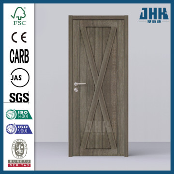 JHK Chinese Wooden Door Pine Wood Entry Doors