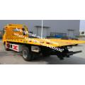 Cama plana 4x2 8 Toneladas Wrecker Tow Truck