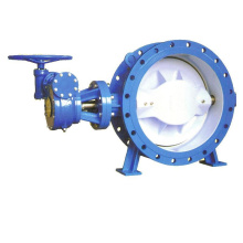 Resilient Seat Double Eccentric Flanged Butterfly Valve