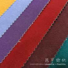 Tecido de veludo com apoio de T/C para capas de sofá