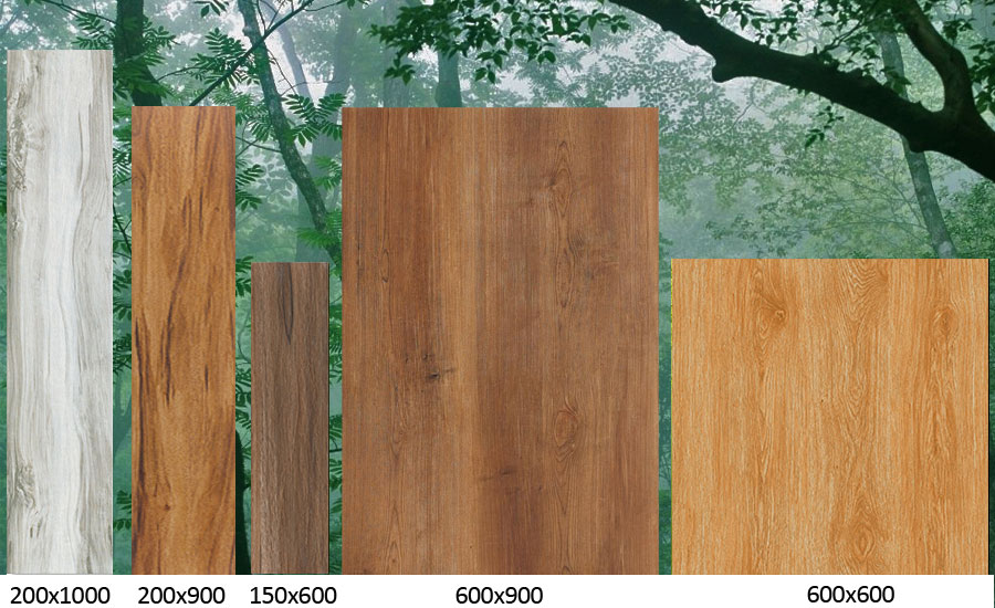 Wood Effect Tiles Outdoor