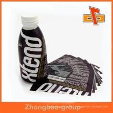 Encolure rétractable / bande rétractable / étiquette rétractable / enveloppe rétractable / pvc étiquette manchon rétractable / manchon thermorétractable pour bouteilles