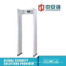 Controle de acesso de reuniões secretas Detector de metal digital com configuração de senha