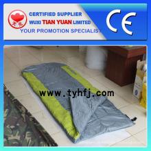 Múmia de luxo Camping poliéster saco de dormir