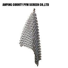 Descascador de arame redondo de aço inoxidável popular do Chain Mail da rede de arame 316 7 * 7 8 * 8 do fio