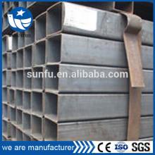 Preço de fábrica EN 10219 SHS mobiliário tubo de China fabricante