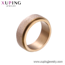 15129 xuping china wholesale fashion rose gold stainless steel jewelry for women