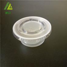 3.25oz kotak saus plastik sekali pakai transparan