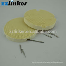 Зубоврачебный соты обжига подносы (круглые керамические штифты Стоматологические инструменты)