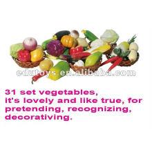 Obst, Gemüse und Brot essen Lebensmittel