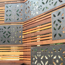 Laser Cut Aluminum Fence Panels