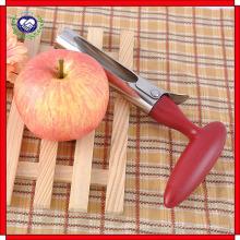 Removedor de núcleo de acero inoxidable Removedor de núcleo de cuero / vegetal con mango de ABS