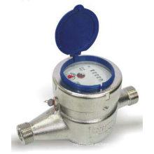 Medidor de agua fría del dial seco del acero inoxidable (LXSG-15)
