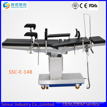 Orthopedic Surgery Medical Equipment Electric Multifunction Operating Table
