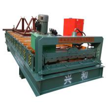 Color de azulejos de acero de azulejos que forman la máquina