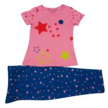 Summer Baby Girl Kids Suit dans l'usure des enfants