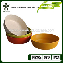 100% natural living bamboo salad bowls