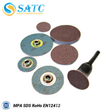 2''/3'' abrasive quick change roloc discs About