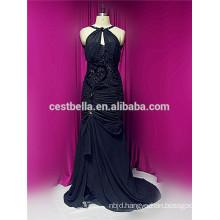 Fashion Crazy Muslim Hajab black wedding dress evening dress