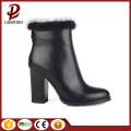 wholesale warm fur boots real cow leather