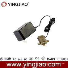 15W AC DC Plug in CATV Power Adapter