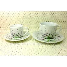 Set de café de porcelana para BS131222E