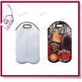 Sublimation Custom Tote Handbag for Two Bottles