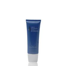 Creme de massagem de plástico apertar tubos de pacote oval cosméticos