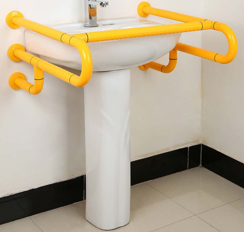 Yellow Nylon Barrier-free Grab bar