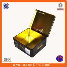 Factroy Cheap Price Metal Hinged Tin Box