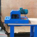 Coupe-tuyau hydraulique avec machine Skiver