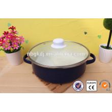 pots d'argile émaillé coloré chambre de la cuisine de la mer
