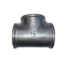 Beaded Galvanized Tee Malleable Iron Pipe Fittings