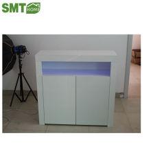 Современная мебель боковой шкаф 16мм PB глянцевое хранение