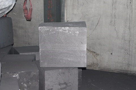 Special smelting graphite blocks