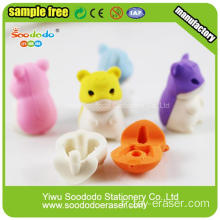 Promotion Hamster Animal Toy Eraser pour enfant