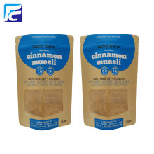 Good Quality for Kraft Coffee Bag New Design Kraft Paper Bag With Clear Window export to France Importers