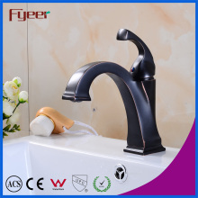 Fyeer Orb High Body Streamline Bathroom Deck Mounted Facuet Household Mixer Tap