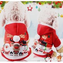 Roupa do animal de estimação do inverno para a festa de Natal