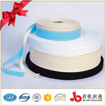 Colourful stretch polyester cotton woven webbing tape