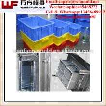 China liefern Qualitätsprodukte zusammenklappbare Obstkistenform / OEM Custom zusammenklappbare Obstkistenform / Spritzgussform für Kiste