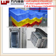 Suministro de productos de calidad de China caja de fruta plegable molde / OEM personalizado caja de fruta plegable molde / molde de inyección para caja