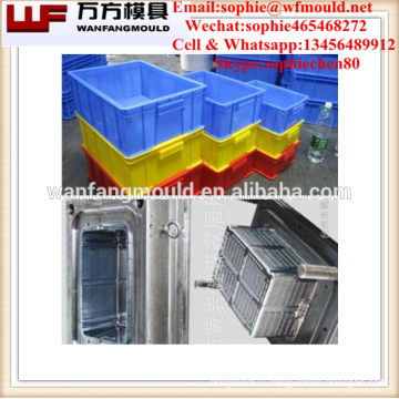 China supply quality products collapsible fruit crate mould/OEM Custom collapsible fruit crate mold/injection mould for crate