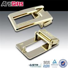 Novedad promocional de metal hebilla de cinturón simple hardware